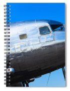 Vintage Airplane Spiral Notebook