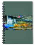 Vintage Airplanes Spiral Notebook