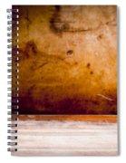 Vintage Grunge Background Spiral Notebook