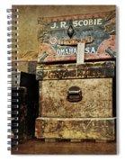 Vintage Trunks #1 Spiral Notebook