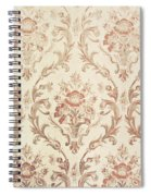 Vintage Wallpaper Spiral Notebook