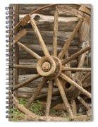 Wagon Wheel Spiral Notebook