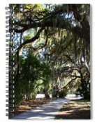 Walking Path Spiral Notebook