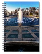 Washington D.c. - Fountains And World Spiral Notebook