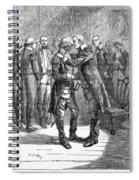 Washingtons Farewell Spiral Notebook