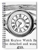 Watch Bracelet, 1891 Spiral Notebook
