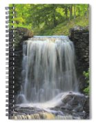 Water Fall Moore State Park Spiral Notebook