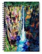 Water Falls Spiral Notebook