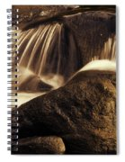 Water Flow Spiral Notebook
