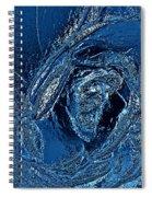 Water Rose Spiral Notebook