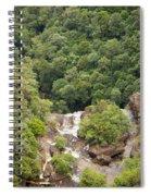 Waterfall Valley Spiral Notebook