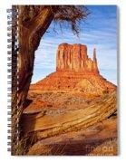 West Mitten Monument Valley Spiral Notebook
