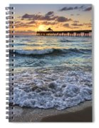 Whipped Cream Spiral Notebook