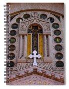 White Cross At St Sophia Spiral Notebook