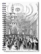 White House Reception Spiral Notebook