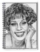 Whitney Houston In 1992 Spiral Notebook