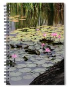 Wild Water Lilies In The River Spiral Notebook
