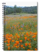 Wildflower Wonderland 10 Spiral Notebook