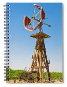 Wind Mills In West Texas Spiral Notebook