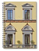 Windows Of Tuscany Spiral Notebook
