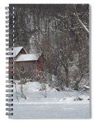 Winter Farm Spiral Notebook