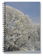 Winter In Oregon Spiral Notebook