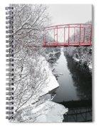 Winter Solitude Spiral Notebook