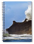 Winter Storm At Cape Kiwanda - Oregon Spiral Notebook