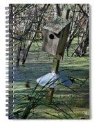 Wood Duck House IIi Spiral Notebook