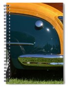 Woodie Spiral Notebook