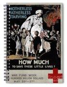 World War I: Red Cross Spiral Notebook
