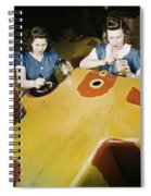 Wwii Workers, 1942 Spiral Notebook