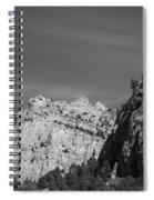 Wyoming Mountain Peaks Spiral Notebook
