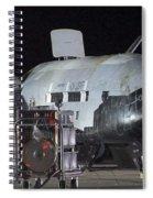 X-37b Orbital Test Vehicle, Post-landing Spiral Notebook