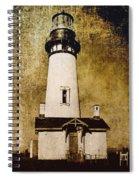 Yaquina Head Lighthouse - Oregon Spiral Notebook