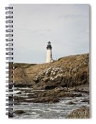 Yaquina Head Lighthouse - Pov 1 Spiral Notebook
