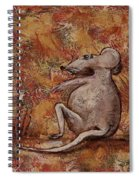 Year Of The Rat Spiral Notebook