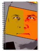 Zweistein - The Brain Man Spiral Notebook