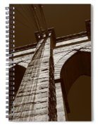 Brooklyn Bridge - New York City Spiral Notebook