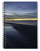 20 Degree Beach Sunrise Spiral Notebook