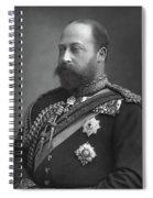 Edward Vii (1841-1910) Spiral Notebook