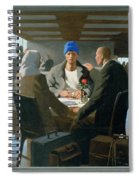 20. Jesus Appears At Emmaus / From The Passion Of Christ - A Gay Vision Spiral Notebook