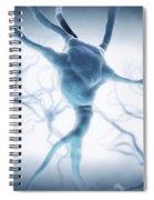 Neurons Spiral Notebook