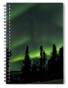 The Aurora Borealis Spiral Notebook