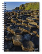 The Giants Causeway Spiral Notebook