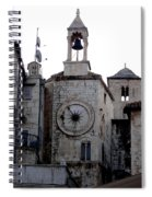 Views Of Split Croatia Spiral Notebook