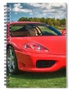 2001 Ferrari 360 Modena Spiral Notebook