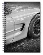 2002 Chevrolet Corvette Z06 Bw Spiral Notebook