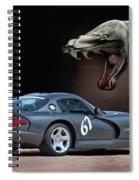 2002 Dodge Viper Spiral Notebook