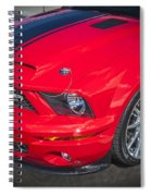 2007 Ford Mustang Shelby Gt500 427  Spiral Notebook